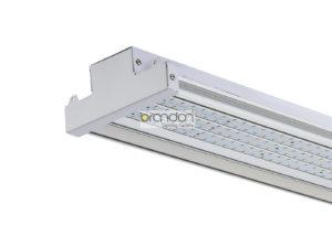 led high bay aisle lighting