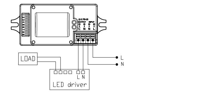 Automatic Switching Light Motion Sensor Mc602s Microwave