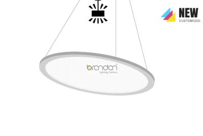 LED Round Flat Panel