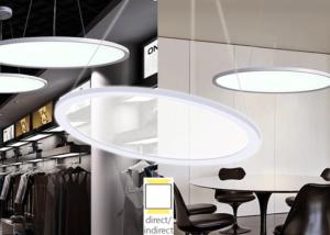 circular pendant light