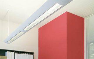 LED Direct indirect pendant light
