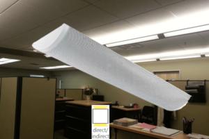 indirect LED office lighting