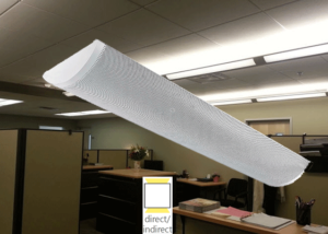 indirect office lighting