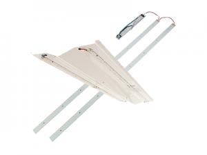 led retrofit kits for fluorescent fixtures