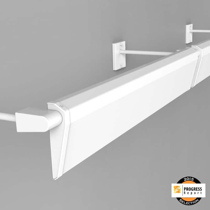 Asymmetric LED Linear Wall Washer