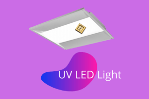 UVC LED troffer light