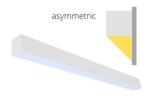 asymmetric lighting