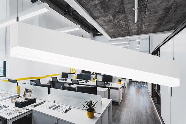 pop-down- led office lighting fixtures