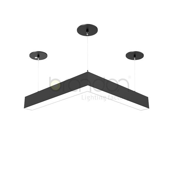 L LED hanging ceiling lights