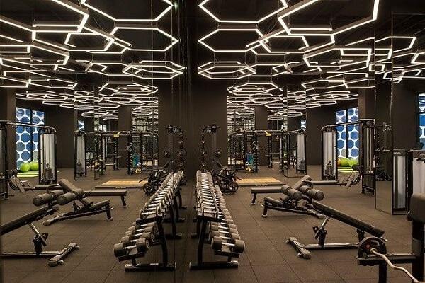 LED fitness fixture