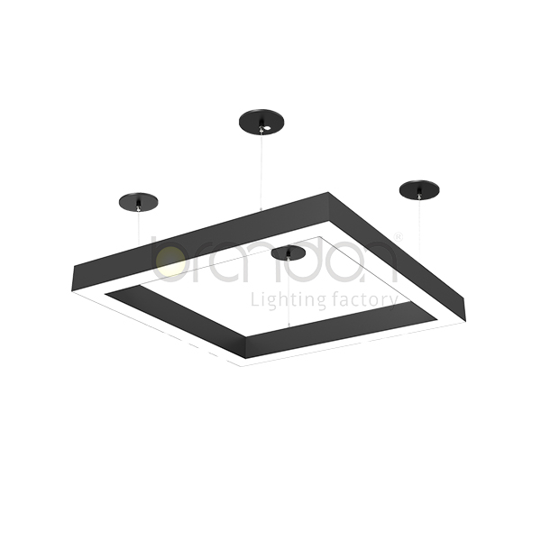 square Square suspended ceiling lights
