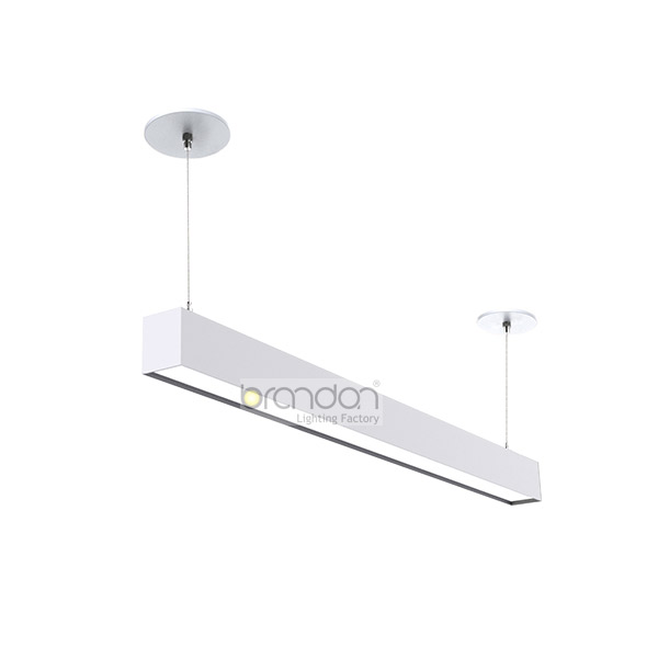 Regressed lens dropped ceiling light fixtures
