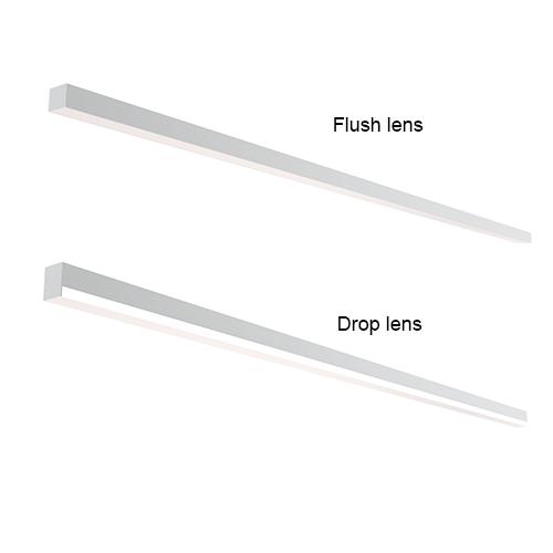 T-bar lighting fixtures