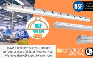 NSF Food lighting