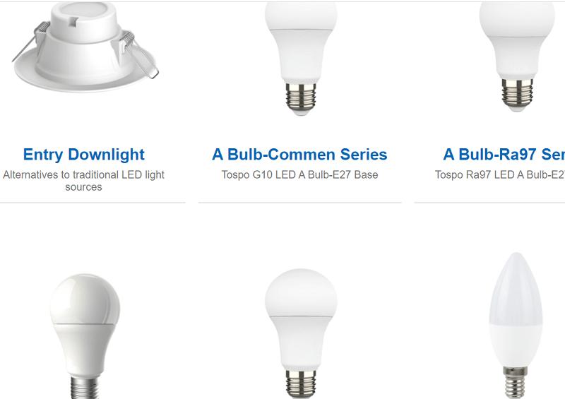 tospo lights