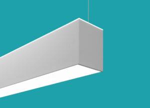 finelite hanging lights for office