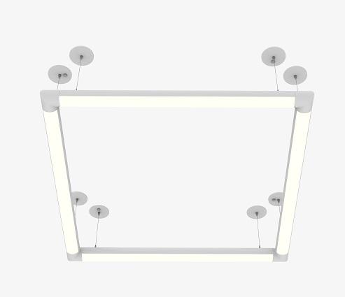 LED Round Suspended light